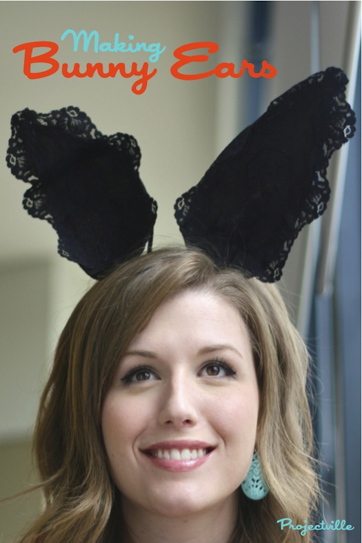 DIY bunny ears by Projectville