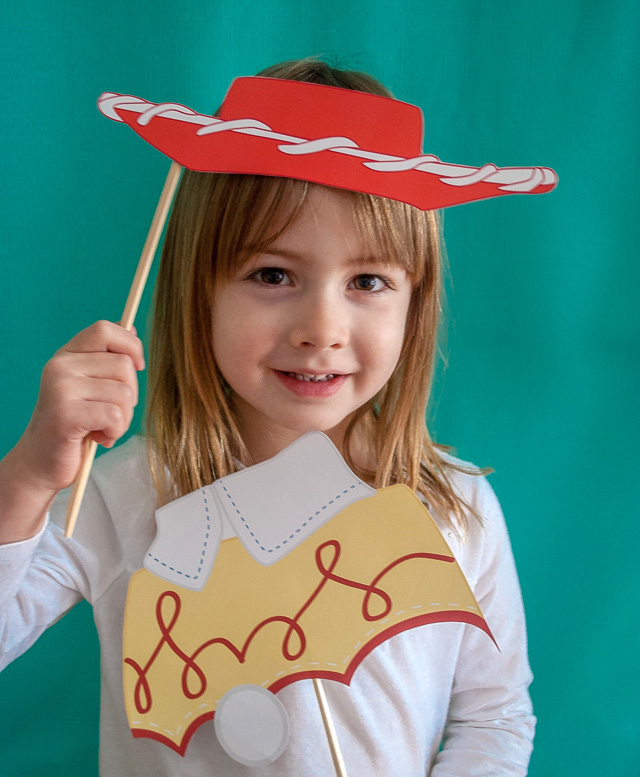 Toy Story printable photo booth props by Merriment Design