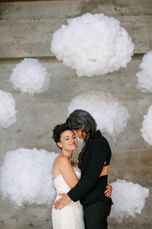 DIY cloud photo backdrop