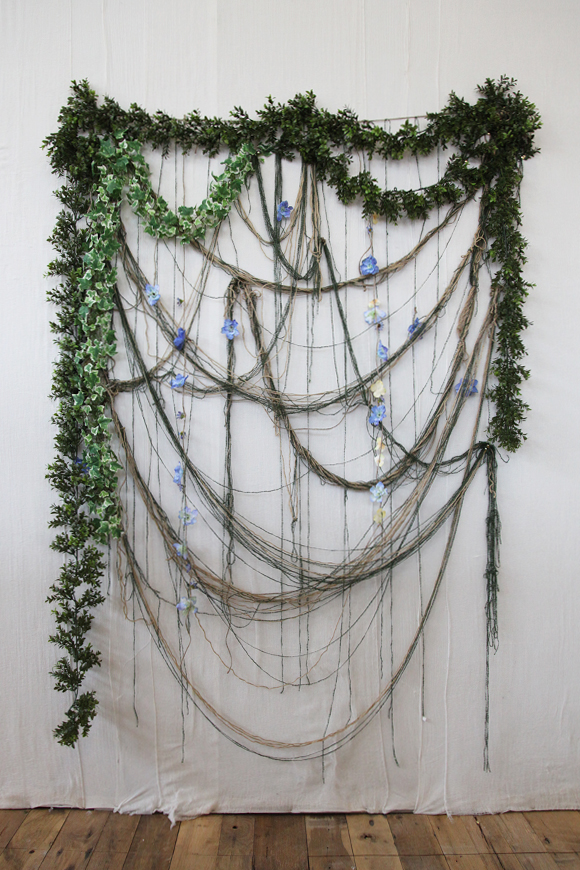 DIY New Year's Eve party photo booth backdrop