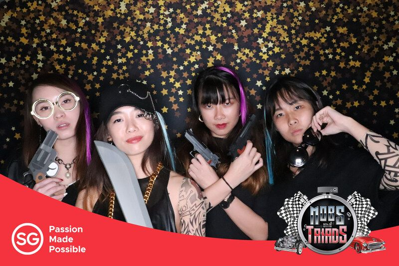 4R photo booth print layout design