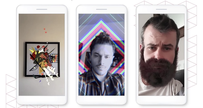 Custom Instagram AR filters for virtual event