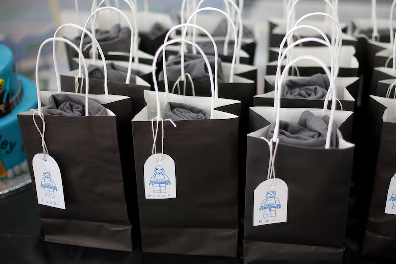 Virtual event bags
