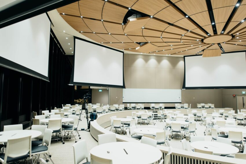Venue recce corporate event for seminar conference for event photographers photography
